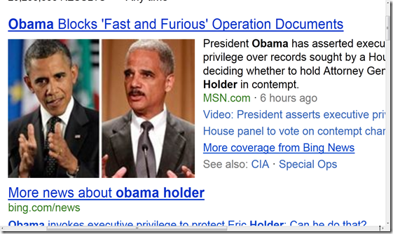 Obama Holder Fast and Furious