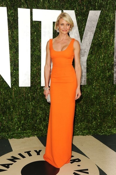 Cameron Diaz 2012 Vanity Fair Oscar Party