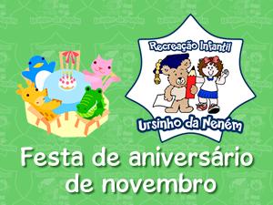 Festa de aniversário de novembro de 2012