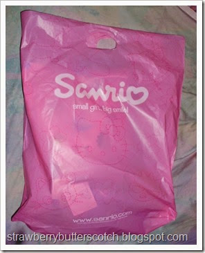 sanrio shopping bag