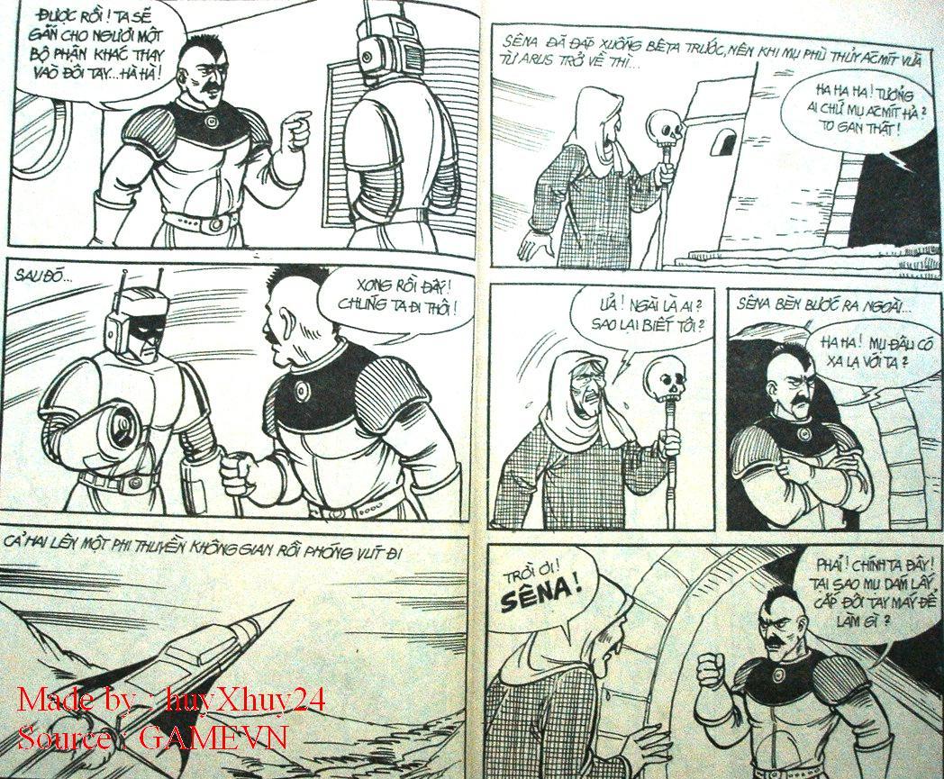 Dũng Sĩ Hesman chap 26 trang 4