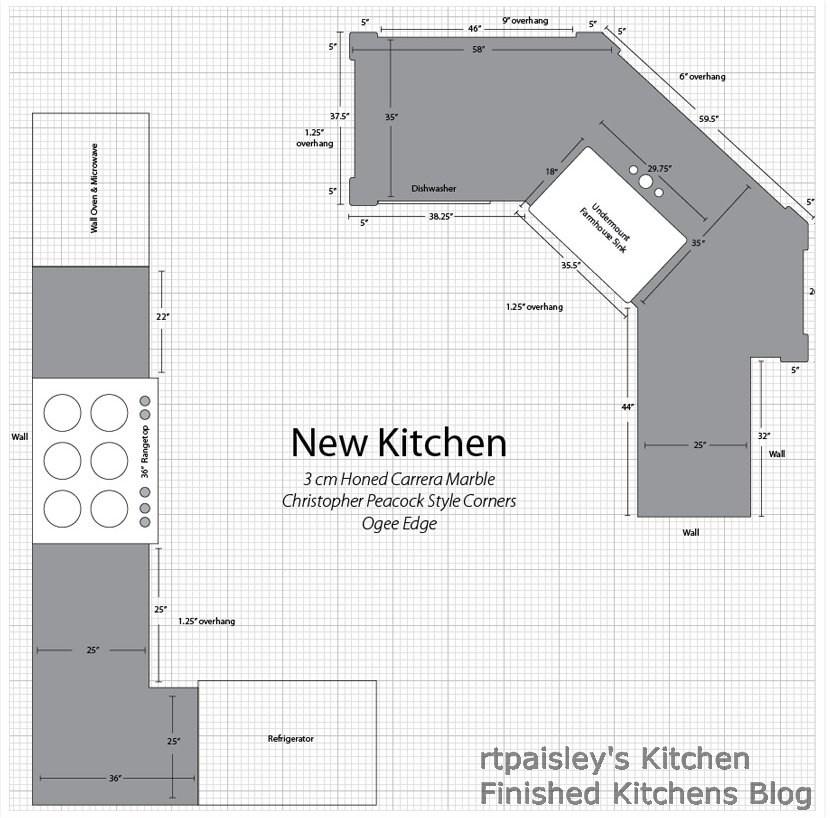 Kitchen Floor Plans Peninsula finished kitchens blog: rtpaisley's kitchen