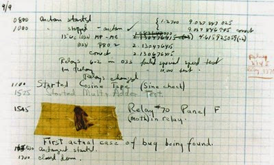 The First Software Bug Ever - mobilespoon