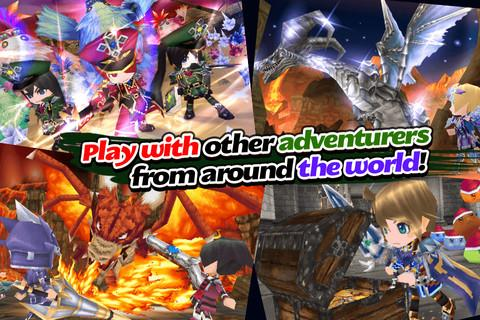 RPG Elemental Knights R (MMO)  screenshots 8