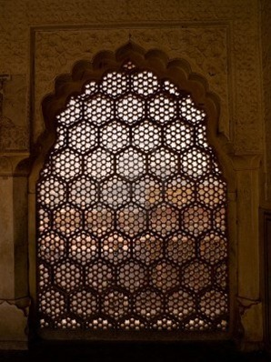 5266880-interior-wall-in-amber-fort-jaipur-india