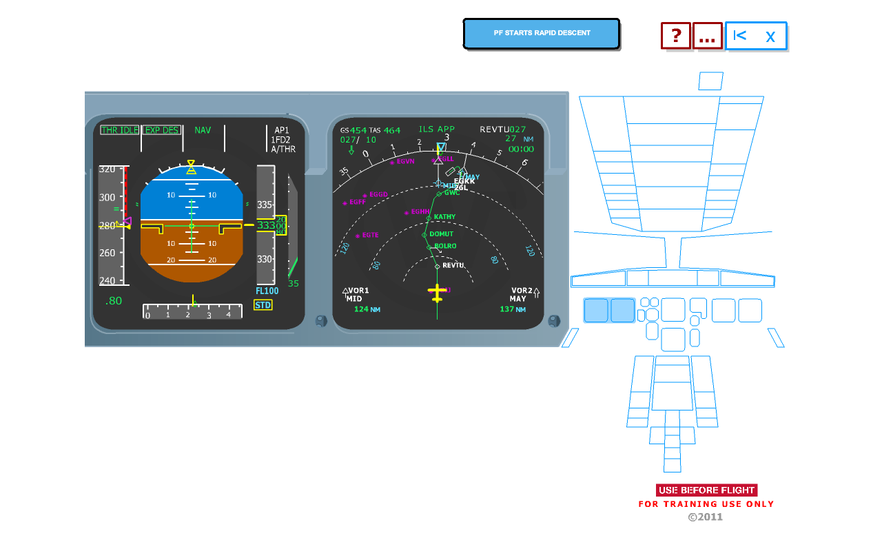 A320 Trainer (EISI IAE) - screenshot