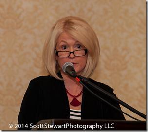 Elizabeth所示Mills讲述了2014年全国民族学会大会