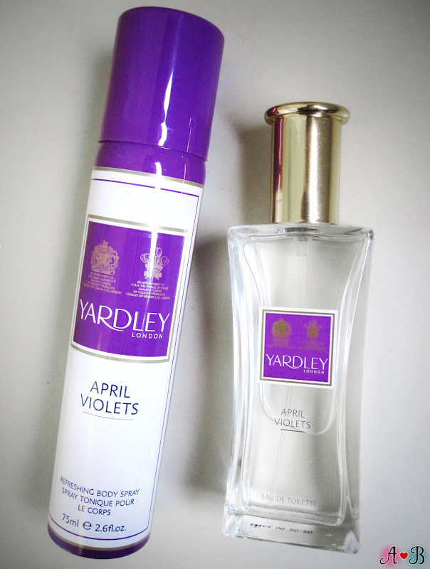 Yardley Eau de Toilette & Refreshing Body Spray Gift Set in April Violets