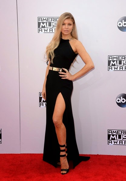 Fergie attends the 2014 American Music Awards