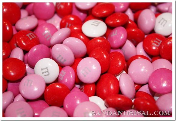 Valentine M & M's