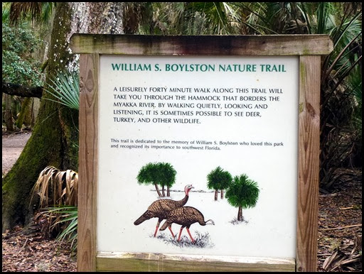 02 - Nature and Canopy Walk - Trail Sign