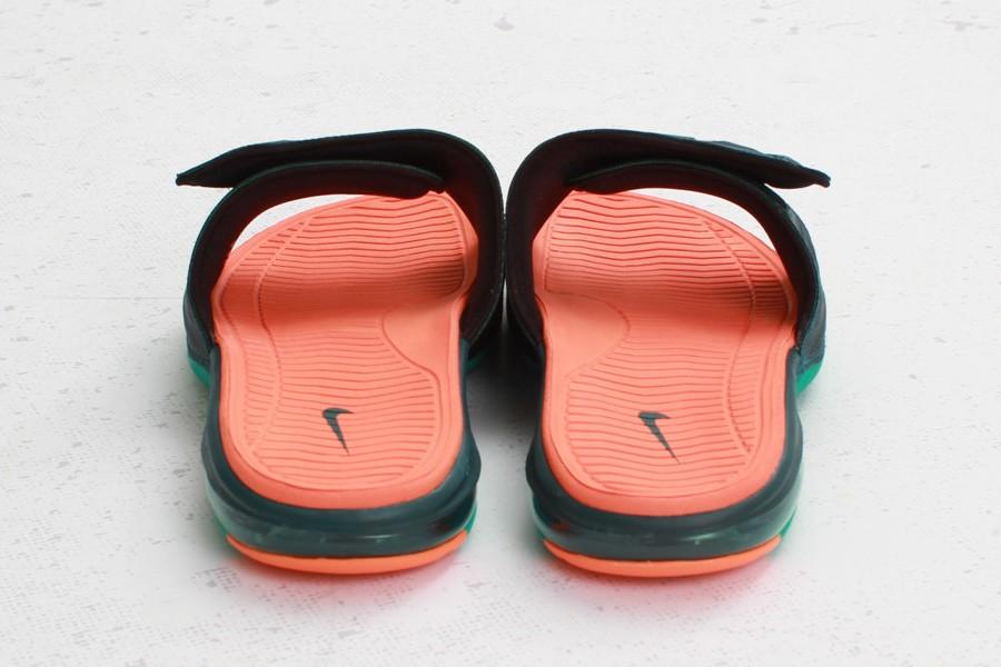 4c4daf8fe421 ... Nike Air LeBron 2 Slide Elite 8211 Dark Atomic TealTotal Orange ...