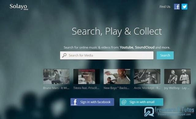 Solayo : un nouveau service d'écoute de musique en ligne