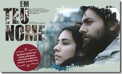 Em Teu Nome - cartaz do filme