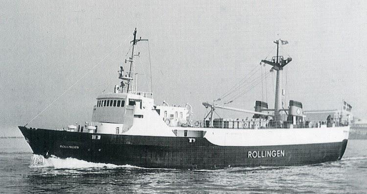El ROLLINGEN en pruebas. Foto del libro DFDS 1866-1991.jpg