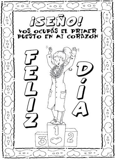 Dibujos Para Colorear De Dia Del Maestro Imagui