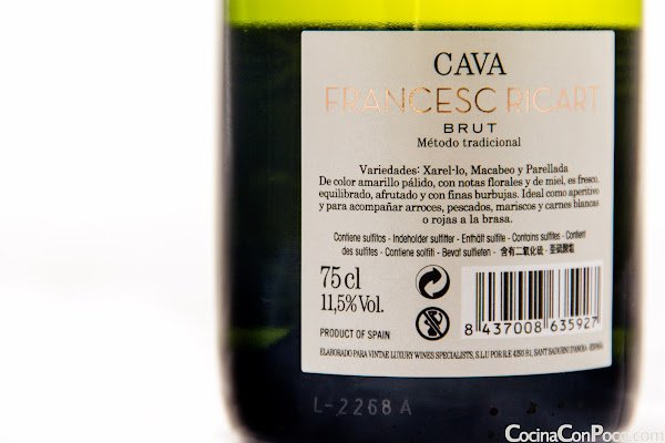 Cava Francesc Ricart - Brut