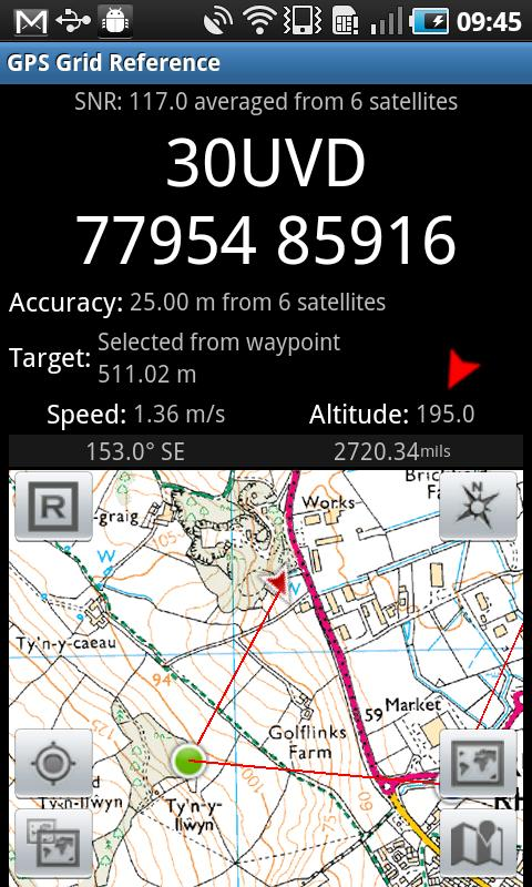 GPS Grid Reference -  Full Screenshot 0