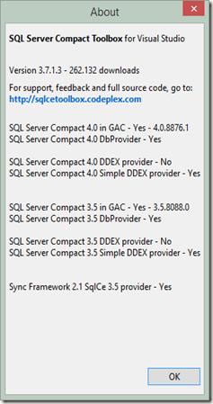 Everything SQL Server Compact: March 2014