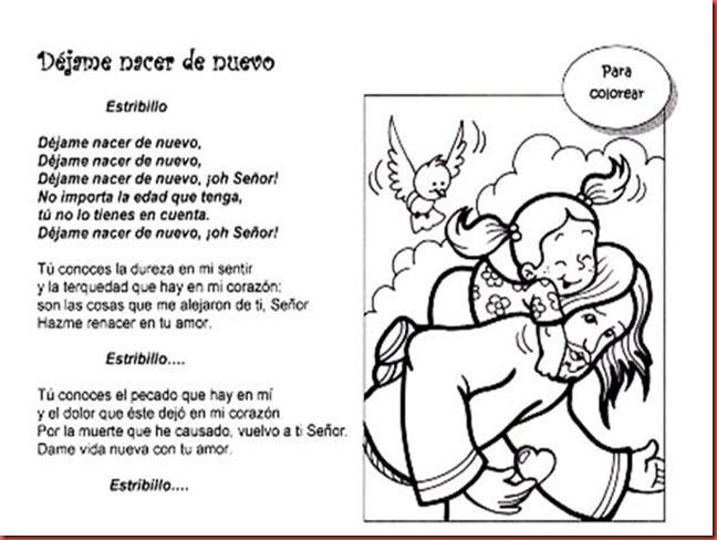 Catequesis Primera Unia N El Credo Para Colorear Espagnol: Escuela Pública De Gestión Privada N