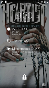 DashClock Music Extension - screenshot thumbnail