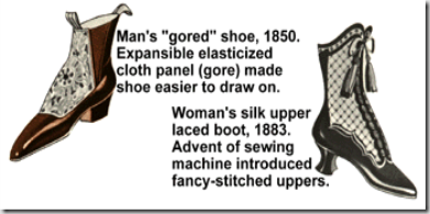 Image of 1800s shoes from www.shoeinfonet.com