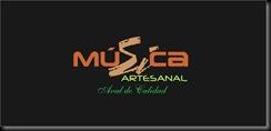Logo 5  Musica Artesanal colores y fondo negro