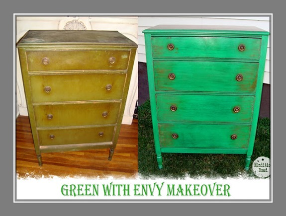 before-and-after-green-dresser