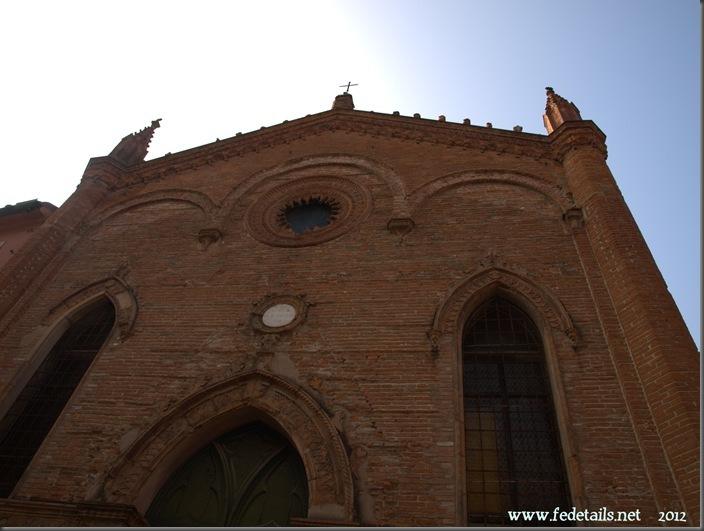 Chiesa Sant'Antonio Abate ( Facciata ) , Ferrara, Emiliaromagna, Italia - Saint Anthony Church (Facade), Ferrara, Emilia Romagna, Italy - Proprty an Copyright of www.fedetails.net