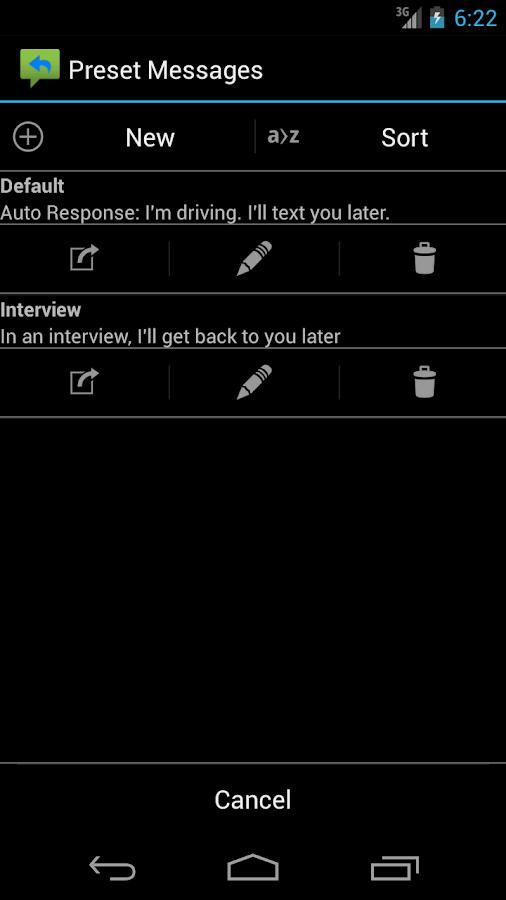 Auto Respond Pro - screenshot