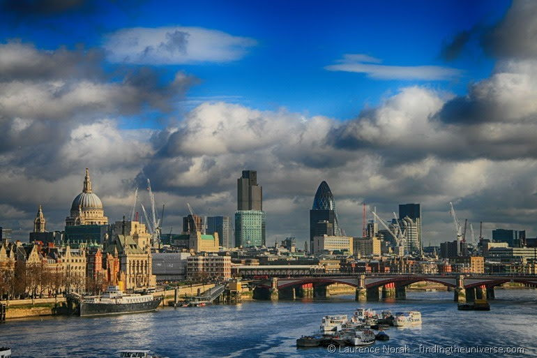 Essential English Cities London Skyline