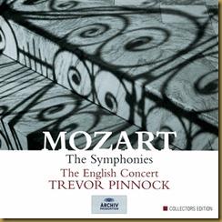 Mozart sinfonias Pinnock