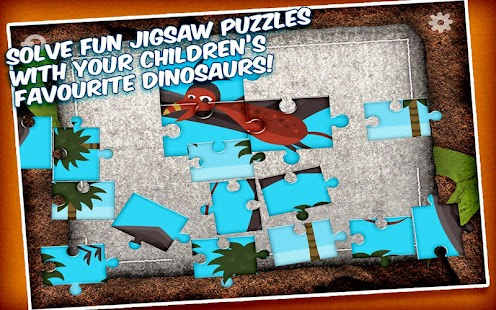 Jigsaw Puzzle with Dinosaurs- screenshot thumbnail