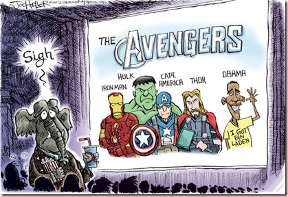 Civilian Reader: A Couple of Avengers-Inspired Editorial Cartoons