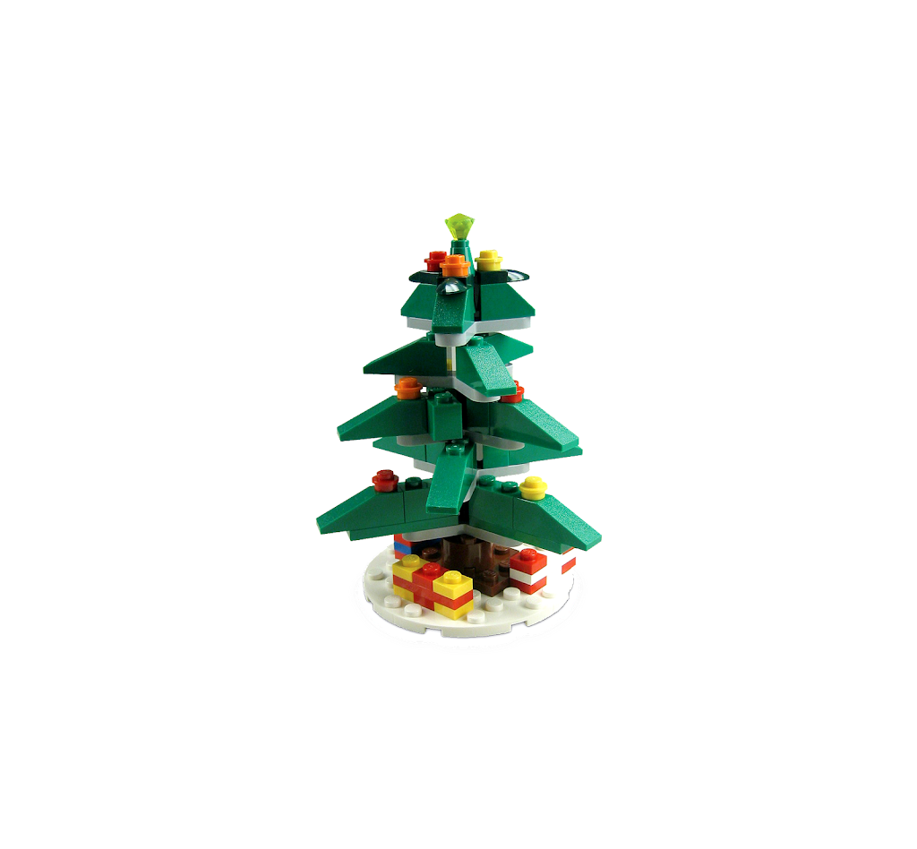 bricker construction toy by lego 40024 christmas tree. Black Bedroom Furniture Sets. Home Design Ideas
