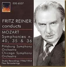 Reiner Mozart 40 Pittsburg