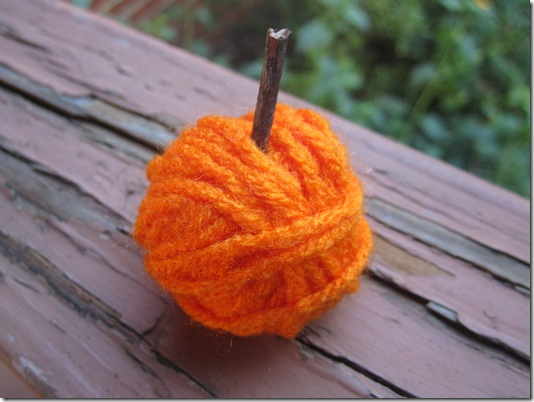 Yarn Pumpkin