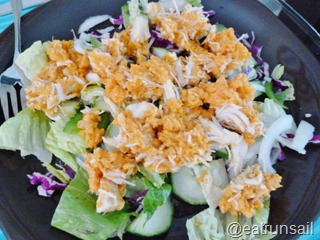 Jan 7 Sweetpotato and Chicken salad 002