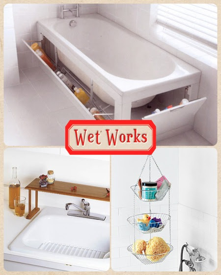 Tiny-Ass Apartment: Wet works: 10 storage solutions for ...