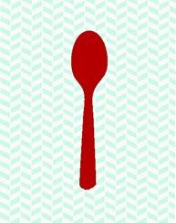 spoon_utensil_red
