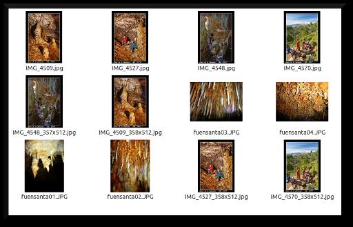 Enlace a otras fotos de la cueva de la fuensanta