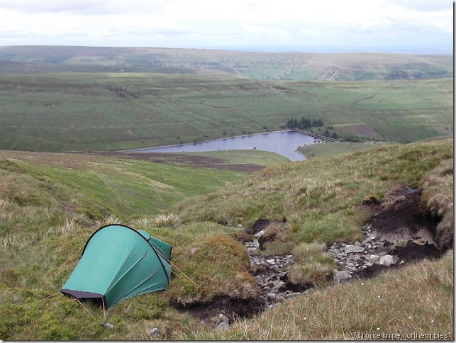 camp on waun fach