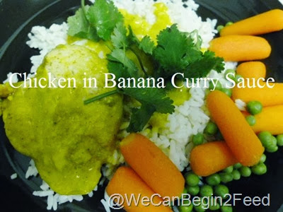 Chicken in Banana Curry Sauce