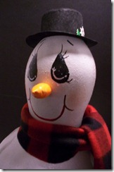 snowman and ornaments 005