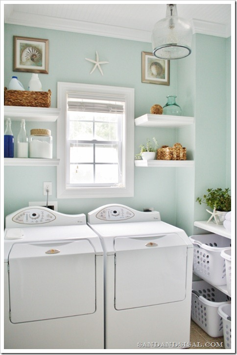 Laundry Room Makeover by Sand & Sisal