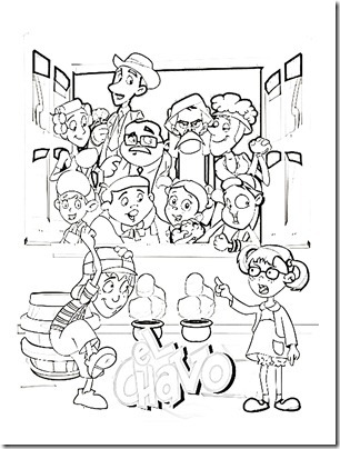 Chavo del 8 coloring pages coloring pages for Chavo del ocho coloring pages