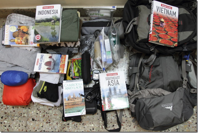 Travel Checklist to help you pack for your long backpacking trips