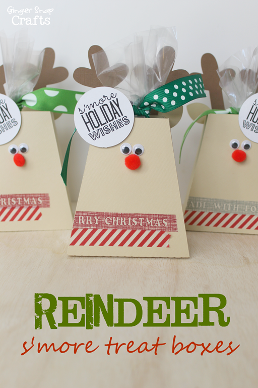 S'more Reindeer Treat Box from GingerSnapCrafts.com #Christmas_thumb[2]