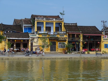 Hoian waterfront