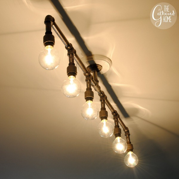 diy pipe lighting. diy plumbing pipe light fixture diy lighting t